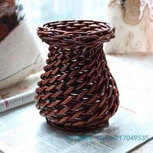 Beautiful Weaved vase Home Decoration Gift V87(China (M
