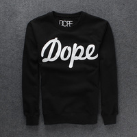 New fashion2013 autumn and winter casual Style sports men's clothing hoodie Dope print long-sleeve hip hop o-neck sweatshirt