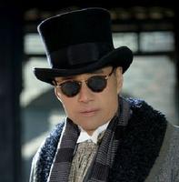 Pure wool fedoras president cap equestrian cap magic cap advanced fedoras