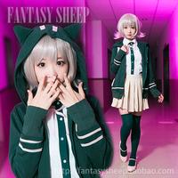 Dangan Ronpa Cosolay Costume SDR2 Chiaki Nanami Cosolay Clothes
