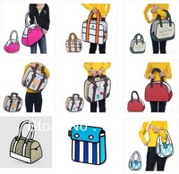Free Shipping 9 Styles 3D 2D Bags Gismo Cartoon Bag Handbags
