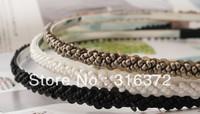 Free shipping  Handmade beaded hairband