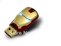 FREE SHIPPING 5pcs/lot IRON MAN Model 4GB 8GB 16GB 32GB USB 2.0 Flash Memory Stick Pen Drive Keys Disks