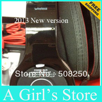 2013 wireless headphone ,EMS DHL Free shipping  new version BTs 1:1 wireless bluetooth SSLL hd headphone