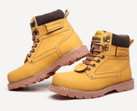 Winter Boots Ankle The Trend of Snow Martin Cotton-padded shoes Male Military Boots for Men Genuine Leather Motorcycle Real 2014