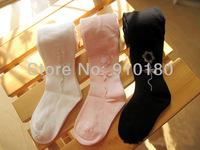 Free shipping 5pcs/lot Baby Girl Flower leggings Soft pants Kids fashion pantyhose