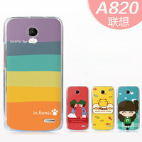 Lenovo A820 Case Lovely Cute Style Cartoon Design for Lenovo A820 Protective Cover Skin Shell Mobile Phone accessories