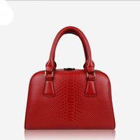 Genuine leather shoulder bag female 2013 serpentine pattern cowhide bride fashion trend of the women's handbag