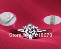 PT950 0.8CT NSCD simulation diamond RING,eight heart eight arrow,perfect wedding ring/ certificatedplated 9K gold
