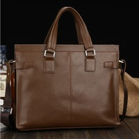2013 New Male Commercial Bag Men Messenger Bag Male shoulder Bag Leather Handbag