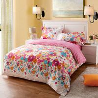 Cotton 100% cotton fashion four piece set bed sheets lovo bedding