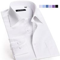 2013 men camisa shirt,Hot and Whole sale,Mens Slim fit Unique neckline stylish long Sleeve Shirts,Men dress shirt,casual shirt