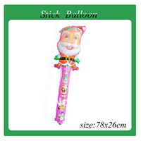 2013 Hot sales!!! 100pcs/lot wholesales christmas Cheering stick balloon , inflatable toys ,Party balloon