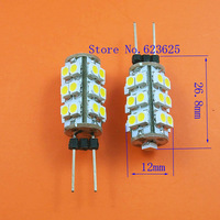 Free Shipping 10pcs/lot  Factory Outlet:G4 25SMD 3528 Warm White light 3000-3300K LED bulb DC12V