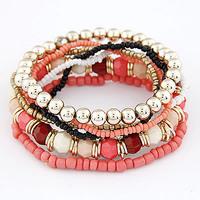 Fashion beaded bohemia national trend vintage multi-layer bracelet jewelry