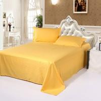 Solid color bedspread plain bed sheet massage bed sheet cotton 100% cotton satin bed sheets bed sheets
