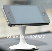 Aluminumr magnet phone holder desktop lazy car phone holder