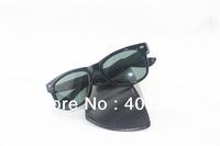Hot! Black Frame Black/gree Lens brand designer Sun glasses Womens Mens Fashion 2140 Sunglasses  50mm 54mm With Boxes