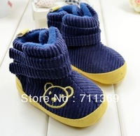 Free shipping wholesale High help baby boots shoes toddler baby cotton shoes foreign trade shoes