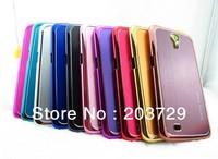 For samsung i9200 mobile 6.3inch phone case protective case i9200 protective case 9200 phone case metal wiredrawing 5pcs/lot