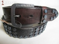 Sturdy men's leather belt
