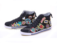 Free Shipping 2013/14 New Arrivals Dsq Women's Sneakers d2 Canvas Shoes For Women 35-40Size