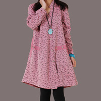 2013 women's spring new arrival original design loose plus size patchwork V-neck shirt dress
