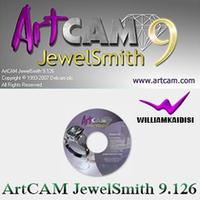 A three-dimensional relief design softwareArtCAM.JewelSmith.v9.126, multi-language version / English