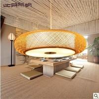 Chinese handmade lamp lighting living in Southeast Asia Japanese restaurant bamboo chandelier 3131