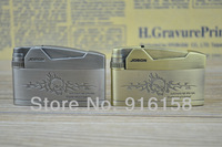 Free Shipping New Metal Cigarette  Gas Lighter