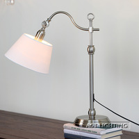 2013 new American study lamp wrought iron rustic simplicity