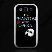 Luxury TPU+ PC hard back cover cartoon Designer Case for Samsung Galaxy S3 SIII I9300 The Phantom of the Opera LC0527 Free ship