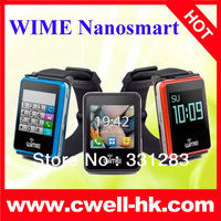 WIME Nanosmart Bluetooth Watch Phone With Call/SMS/Phonebook Sync Function and 1.54 Inch Touch Screen and Stereo Music Decoder