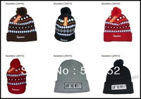8 Colors!SSUR COMME DES FUCKDOWN Beanie hat Football beanies cap wool winter knitted caps and hats for man and women