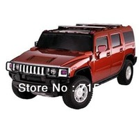 free ship Hummer mini speaker car shape mini speaker sound amlifier MP3++U disk+TF+FM function have 5 color for choice