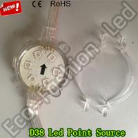 6SMD 5050 Waterproof Led Pixel Module Led Point Source Light WS2811 Full Color Led Module DC12V