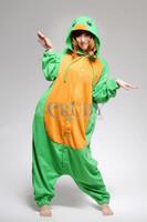 Fashion Christmas Costumes Pajamas All in One Pyjama Animal suit Cosplay Costume Adult Garment Flannel Turtle Cartoon Onesie