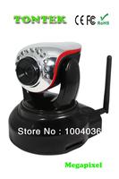 100 MegaPixel 720P HD Pan Tilt Dual Audio Night Vision Wireless Wifi  IP Camera SD Card TT-625W
