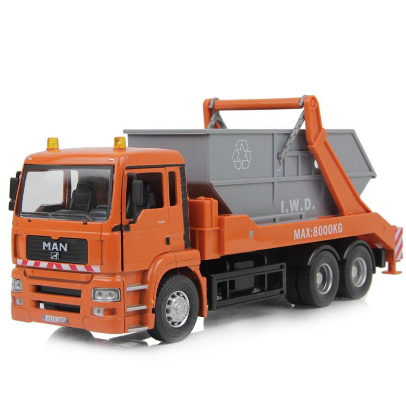 Car large transport truck alloy jackknifed alloy car model toy(China (Mainland))