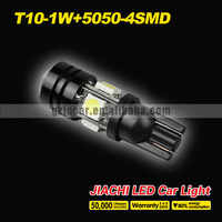 Freeshipping t10  5050 4-SMD 2.2W 12V/24V 7000K led cree