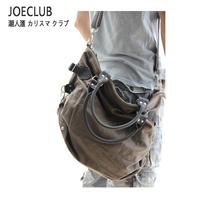 2013 women's handbag motorcycle male vintage one shoulder cross-body travel canvas big bags