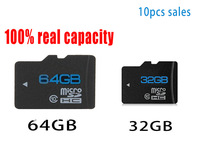 The CLASS10 TF micro sd 32gb64gb brand + SDHC SD Memory Card Camera Adapter Bulk MP3 MP4 Android phones
