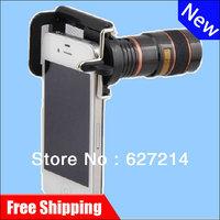 Universal Mobile Phone Telescope 8x optical zoom telescope camera shooting outdoors far shot Mobile Phone Accessories