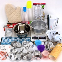 Diy baking tools 28 110 set bake cake mould bundle cloth decorating bags