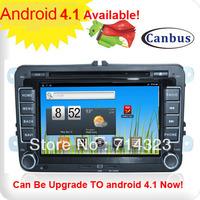 Android 2.3 OS A8 Chipset HD Car DVD GPS Radio For VW PASSAT CC TIGUAN EOS GOLF 5 6 POLO SHARAN TOURAN AMAROK R36 TRANSPORTER T5