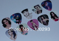 Wholesale 100 pcs Katy Perry 2-sides Color printing Guitar Picks