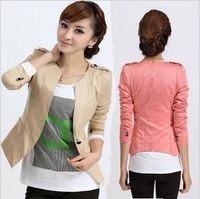 Ayilian 2013 slim short jacket coat spring and autumn career women's blazer ol