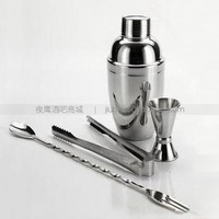Cocktail set hip flask shaker tools cocktail shaker set