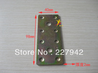 Straight yard furniture fittings stainless steel angle bracket angle iron shelf support fixed hardware partition