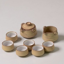 Free shipping special grade Ceramic Kung Fu Tea Sets Eight-piece set,kung fu teapot+serving cup+6 cups,suit for 6 people